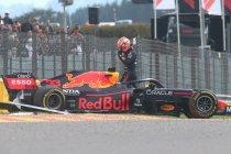 België: Verstappen snelste op vrijdag maar crasht