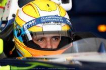 Gilles Magnus aan de start van de NEC Formula Renault 2.0 met R-ACE GP