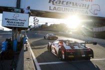 California 8H: Titel en 1-2 voor Audi - Vautier (AMG) kampioen