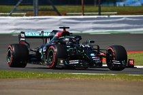 70ste verjaardag GP: Mercedes als naar gewoonte vooraan in derde vrije training