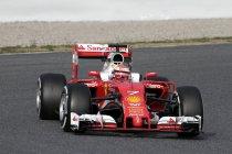 China: VT2: Räikkönen leidt de dans in Ferrari 1-2