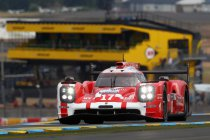 Porsche bovenaan na vrije training