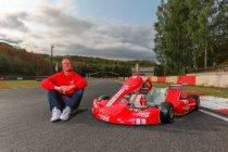 Kobe Pauwels en Luca Leistra versieren een zitje bij team van Ralf Schumacher