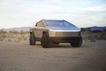Ontmoet de bizarre Cybertruck, Tesla eerste pick-up