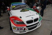 Monza: Stefano d'Aste snelst in doornatte warm up