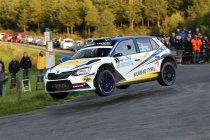 East Belgian Rally: Winst voor Hermen Kobus na spannend slot