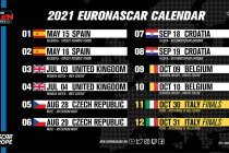 NASCAR Whelen Euro Series maakt herwerkte seizoenskalender bekend