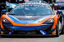 Zak Brown en Richard Dean delen United Autosports McLaren in GT4 European-manche op Zandvoort