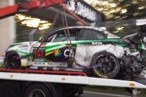 Newsflash: 24H Zolder: Zware crash BMW #142 zorgt voor nieuwe onderbreking