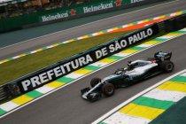Brazilië: 82ste pole voor Lewis Hamilton