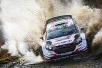 Evans en Ford domineren openingsdag in Wales