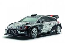Hyundai presenteert nieuwe i20 WRC '17