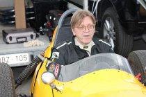 Circuit Zolder, donderdag 24 mei 2018 – Guy Verhofstadt maakt zich op voor de Historic GP