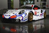 Petit Le Mans: Porsche opnieuw met retro kleuren