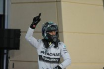 Bahrein: Rosberg op pole - Vettel niet in Q3