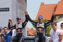 Rally van Polen: Vijfde van het seizoen voor Sébastien Ogier