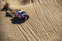 Eerste dagwinst voor Toyota Gazoo en Giniel De Villiers