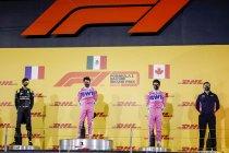 Sakhir: Perez wint nadat Mercedes in de fout gaat