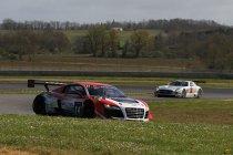 Nogaro: VT2: Novadriver Audi verrassend snelste op opdrogende baan