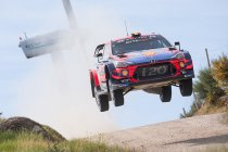 WRC: Titelstrijd gaat verder op onverhard