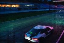 Audi RS7 zonder rijder rond de Hockenheimring