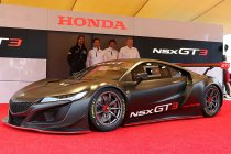 Honda presenteert NSX GT3 (+ Foto's)