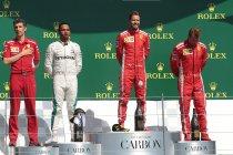 Groot-Brittannië: Vettel verslaat Hamilton tijdens spannende eindfase