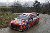 WRC: Tänak bovenaan na stevige intro in Monte-Carlo