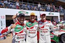 Marrekech: Rob Huff wint verregende hoofdrace, 1-2-3 voor Honda