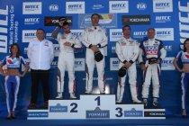 Spa: Race 1: Yvan Muller lukt vierde zege, hattrick voor Citroën