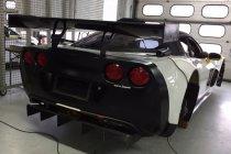 Dylan Derdaele test nagelnieuwe Corvette Z06.R GT3 in Hockenheim