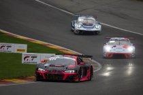 Spa 24H: Na 18H: Audi 1-2 na crash leidende Lamborghini