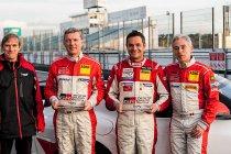 Olivier Muytjens test Toyota GR Supra GT4 te Jarama