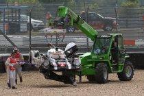 6H Nürburgring: Opnieuw Porsche in FP2 maar ook zware crash voor #2