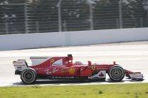 Wintertesten Barcelona: Ferrari snelst - McLaren al vroeg in de problemen