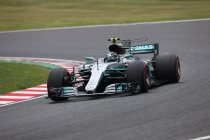 Japan: Mercedes 1-2 in laatste vrije training ondanks crash Bottas
