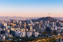 Seoul e-Prix in en rond het Olympisch stadion