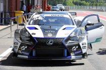 Spa: Lexus blijft voorlopig ongeslagen in GT Open