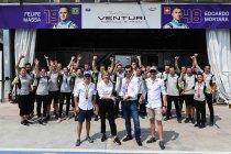 Ongewijzigde line-up bij Venturi in seizoen zes - Mitch Evans bijna rond bij Jaguar