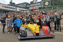 Zolder Historic GP: #TheRocket11 met 'Stay Strong Belgium'-boodschap in Zolder
