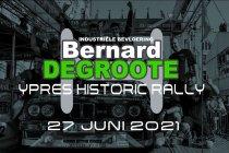 Bernard Degroote Ypres Historic Rally op zondag 27 juni