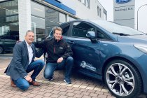 Philippe Huart met Ford Peerlings bij Belgium Racing