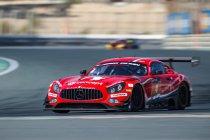 24H Dubai: Black Falcon-Mercedes-AMG wint vanwege regen verkorte 15e editie