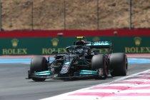 GP Frankrijk: Mercedes terug bovenaan na eerste vrije training
