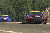Spa: Wouter Segers en Thomas Leysen verdelen de winst in Virtual Belcar Skylimit Sprint Cup