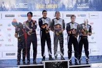 Rally van Zweden: Winst voor Ogier - Neuville schitterend 2de