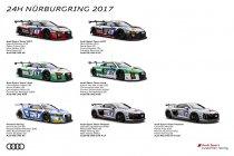 24H Nürburgring: Audi toont nieuwe fabriekskleuren (+ Foto's)
