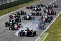 FIA F3: Monza: Joel Eriksson en Callum Ilott winnen op zondag