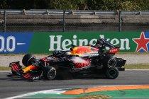 Italië: Verstappen bestraft voor incident met Hamilton