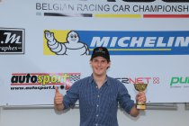 Alexis van de Poele eerste laureaat Autosport.be Junior Trophy 2014